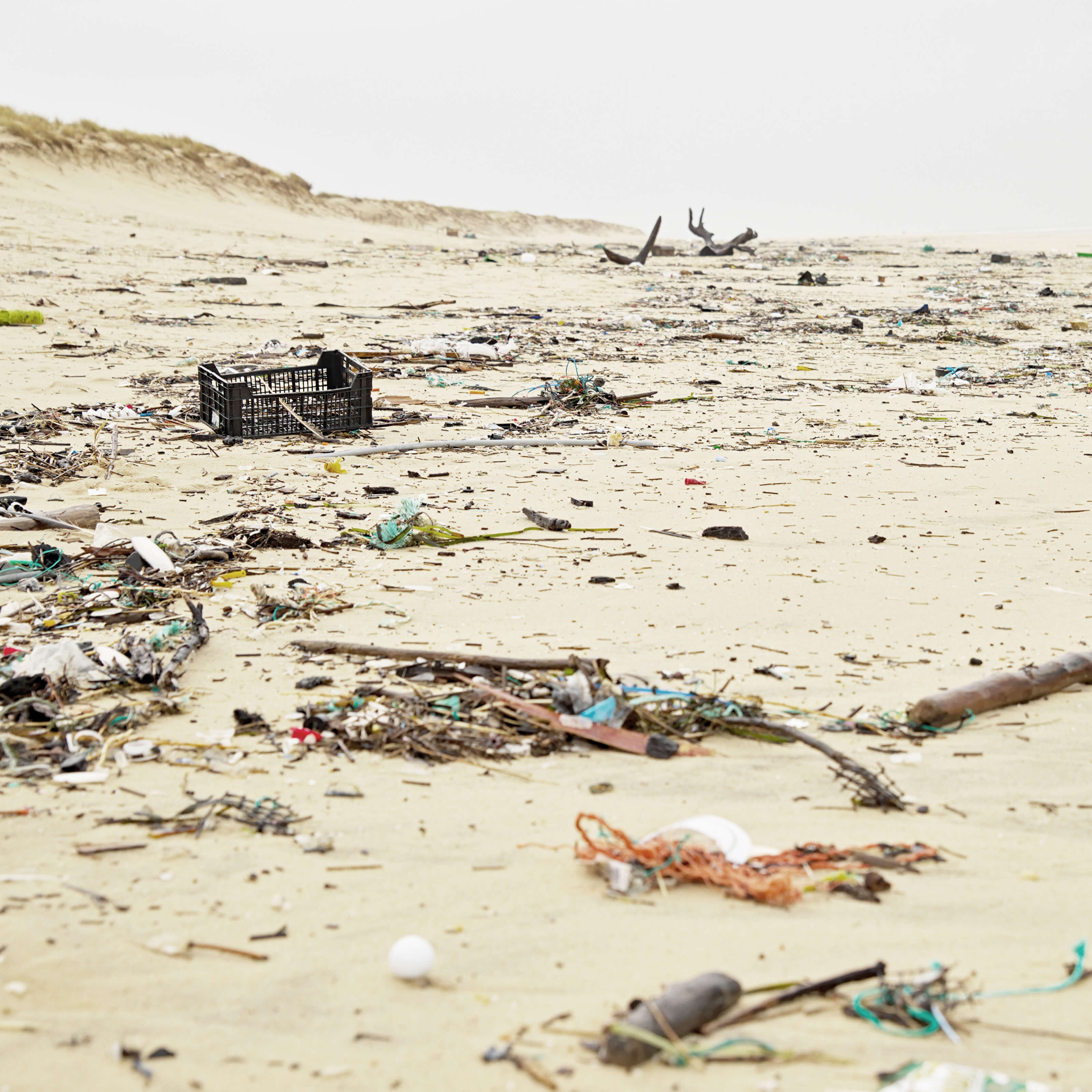 beach, trash, sand
