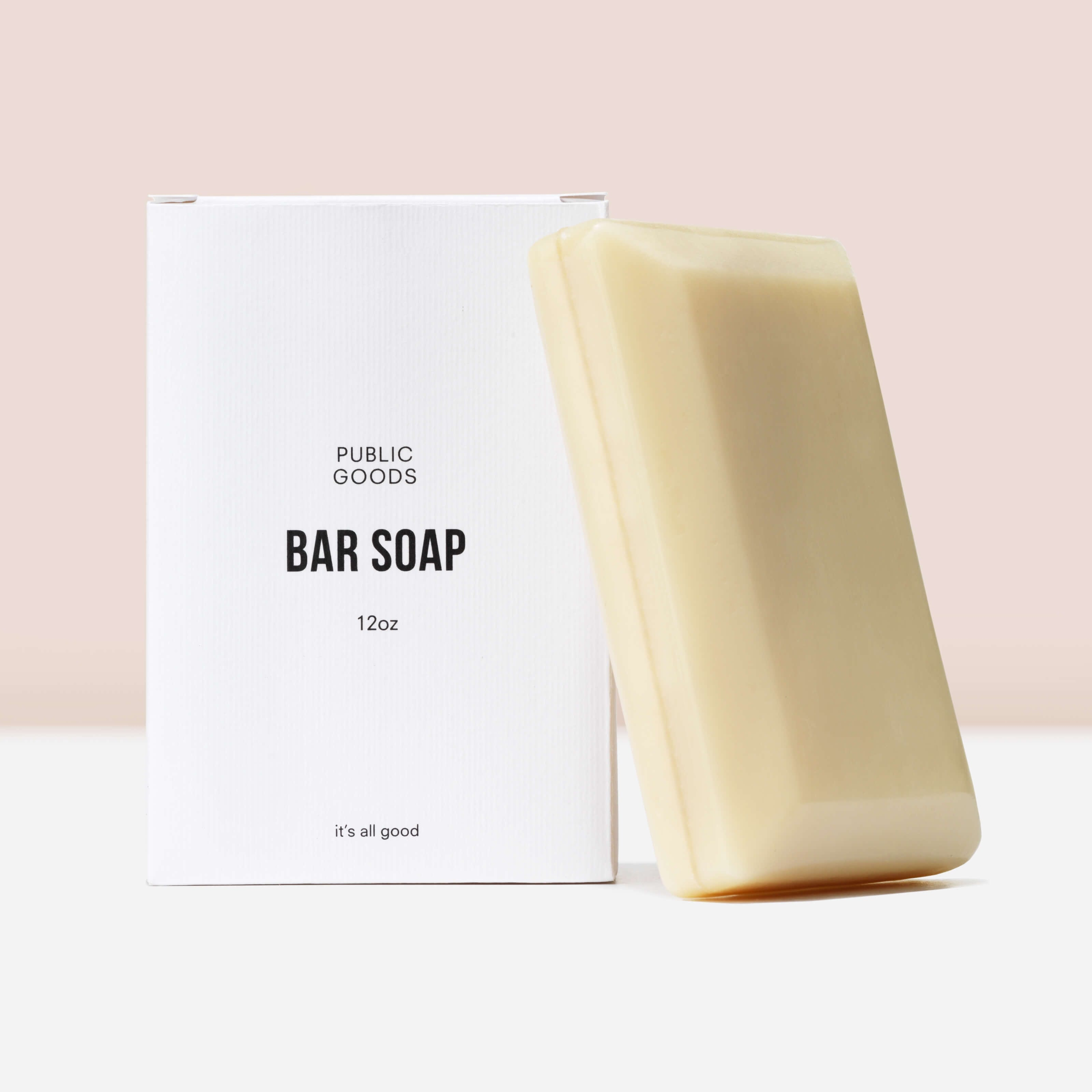 public goods bar soap