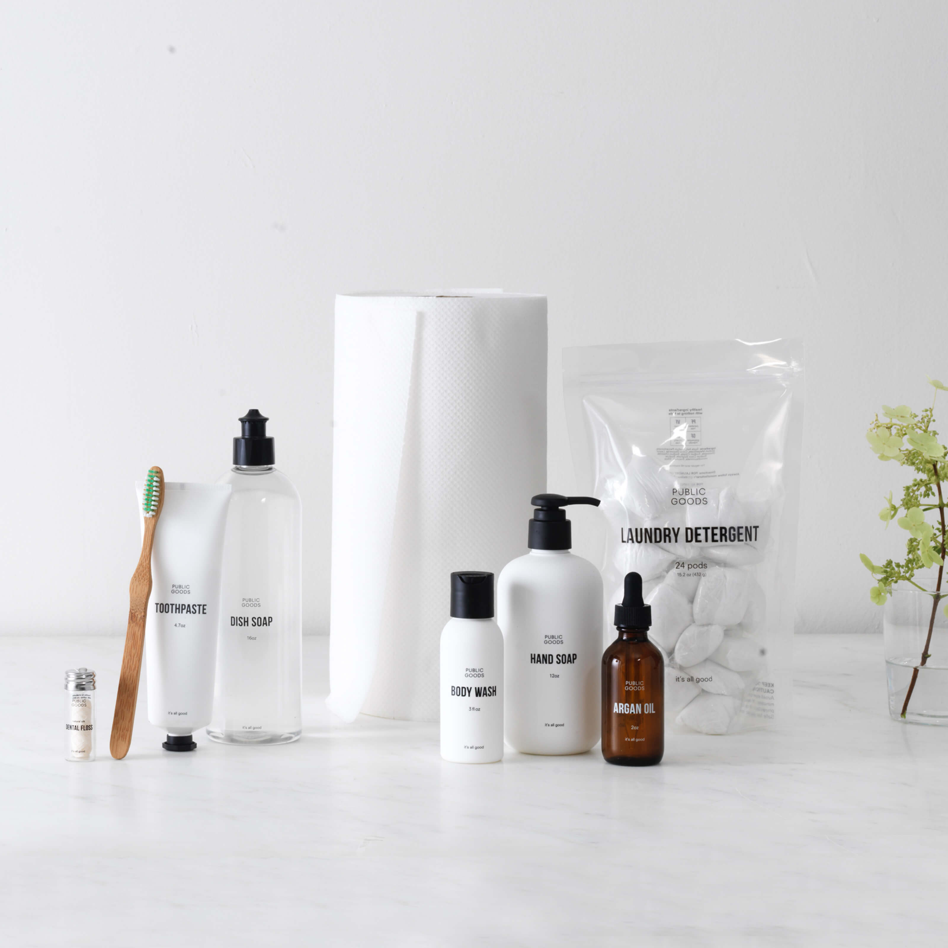 Dry Skin vs. Public Goods Products