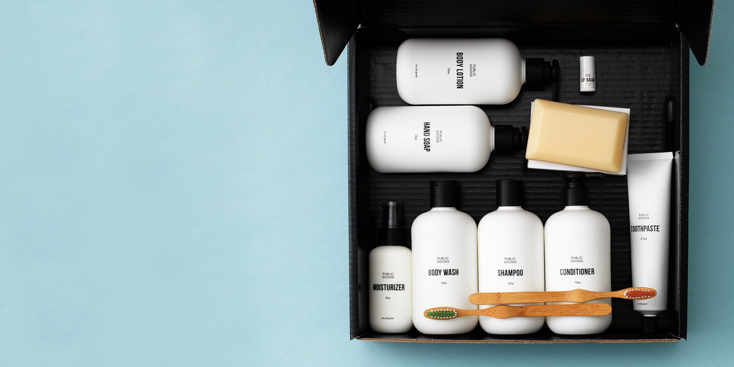 public goods products box
