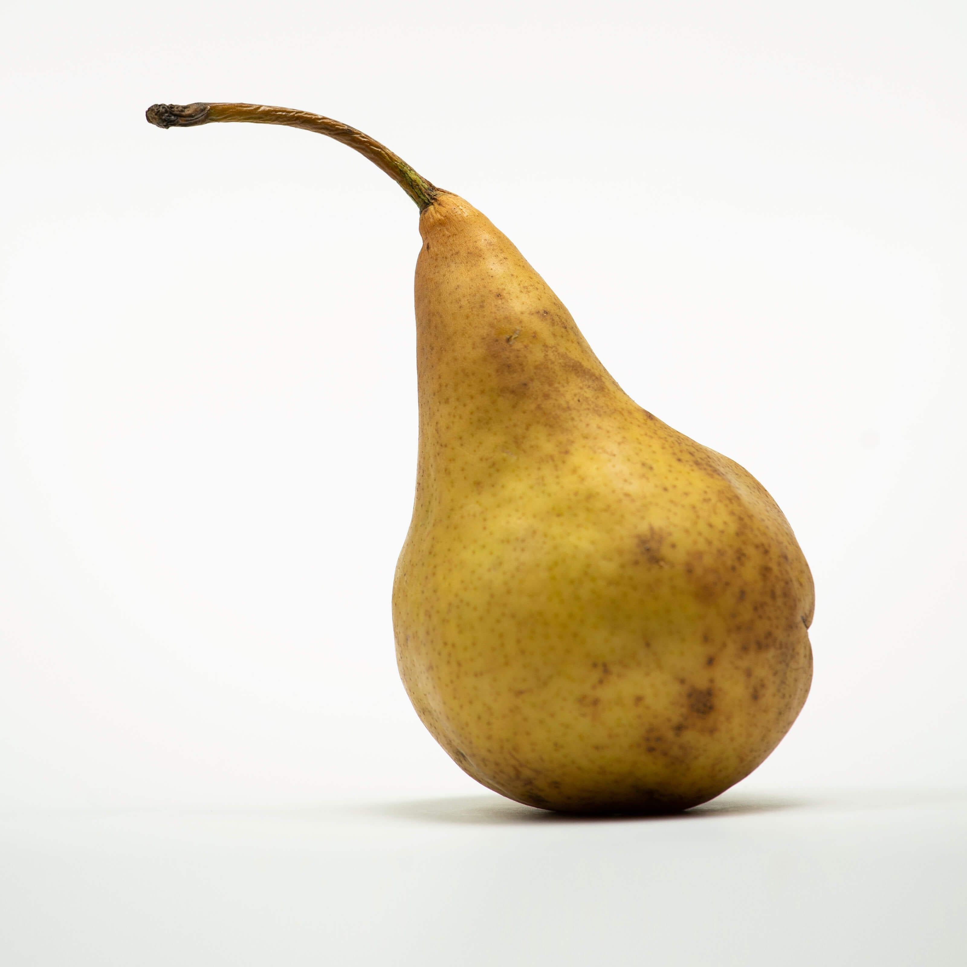 bruised pear