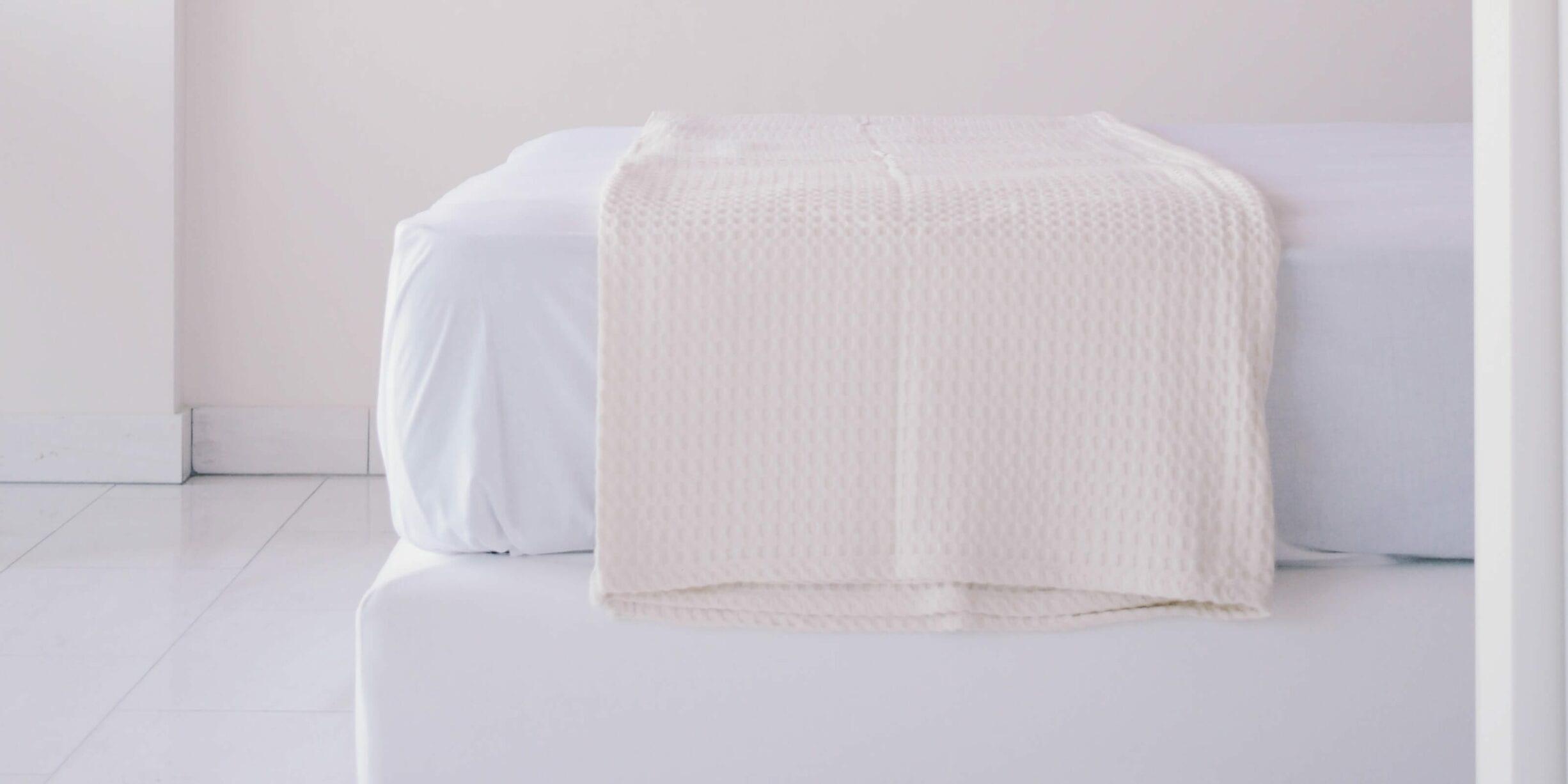 mattress, bed frame, duvet cover