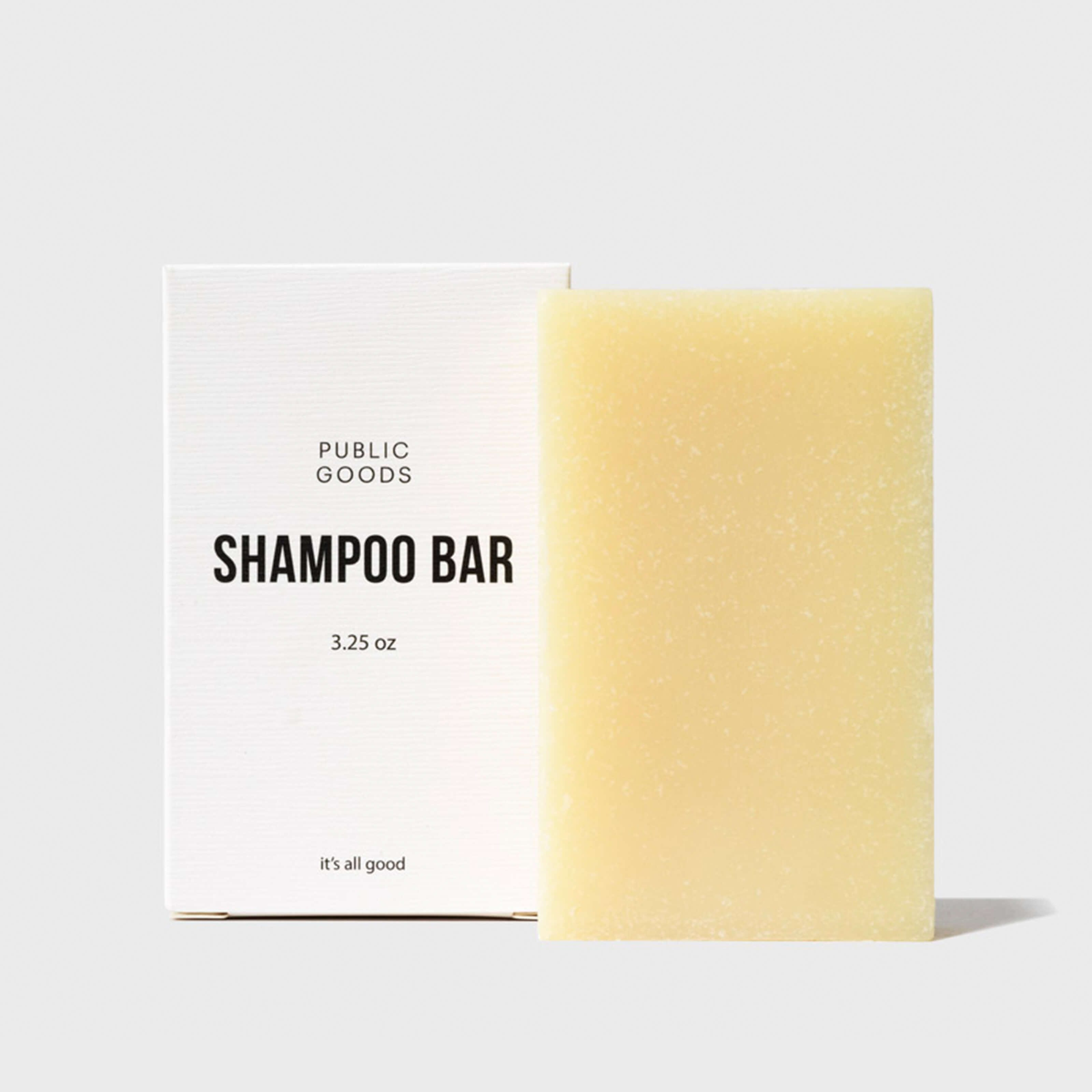 The Story Behind Public Goods' Shampoo Bar