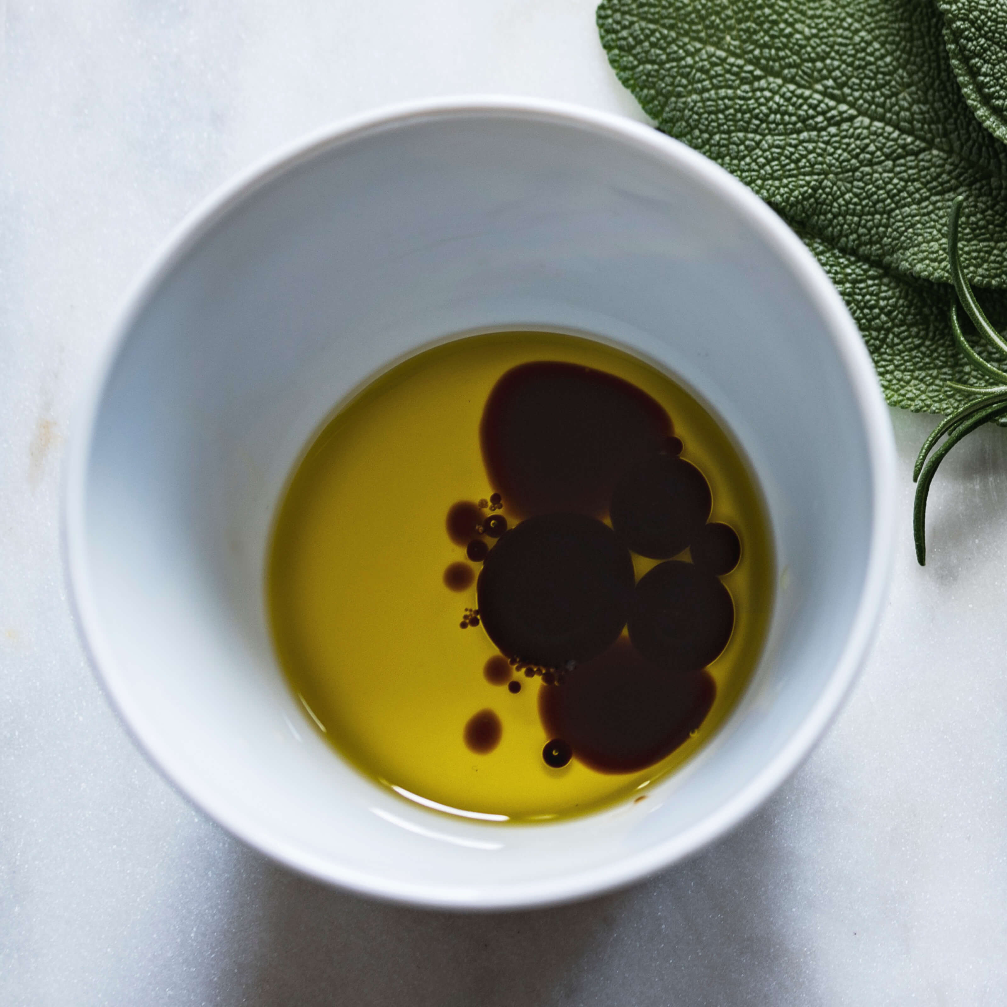 cup of olive oil