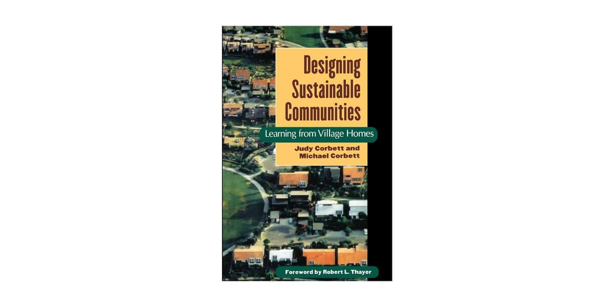 designing sustainable communities book cover