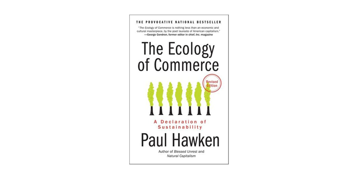 the ecology of commerce book cover