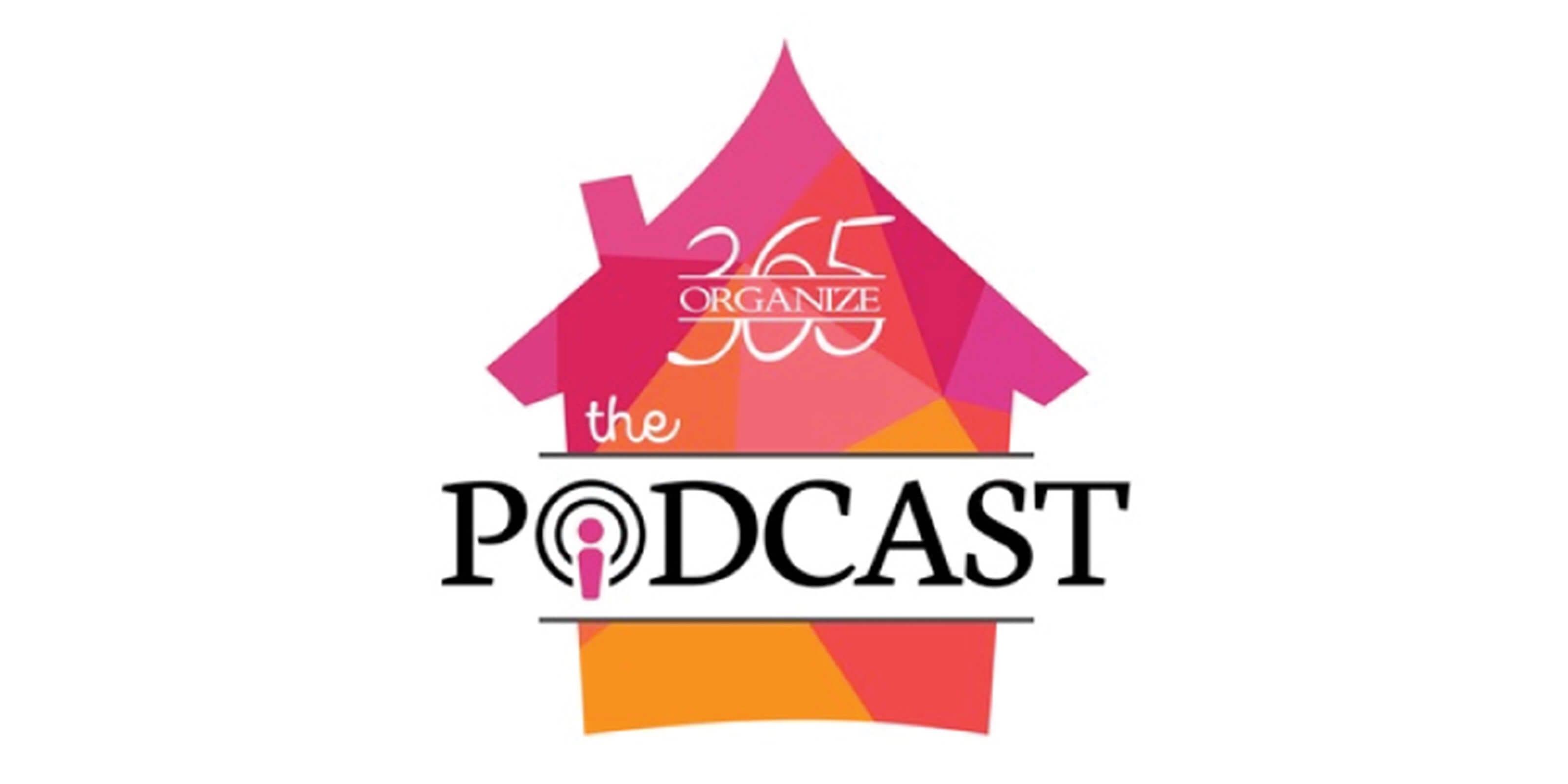 365 organize the podcast logo