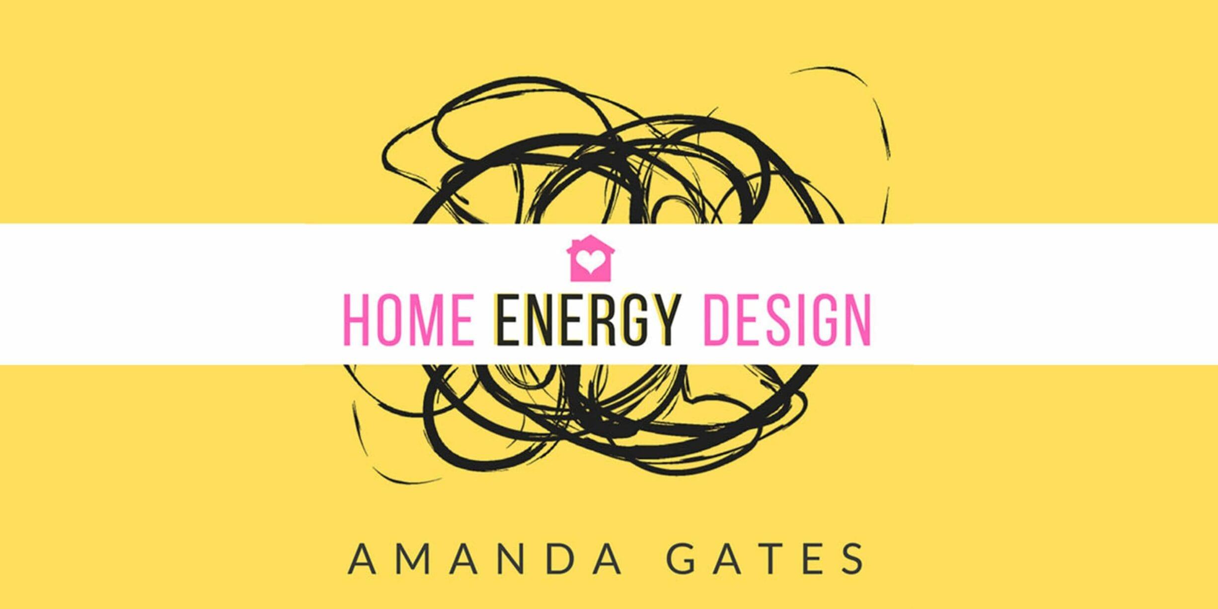 home energy design with amanda gates logo