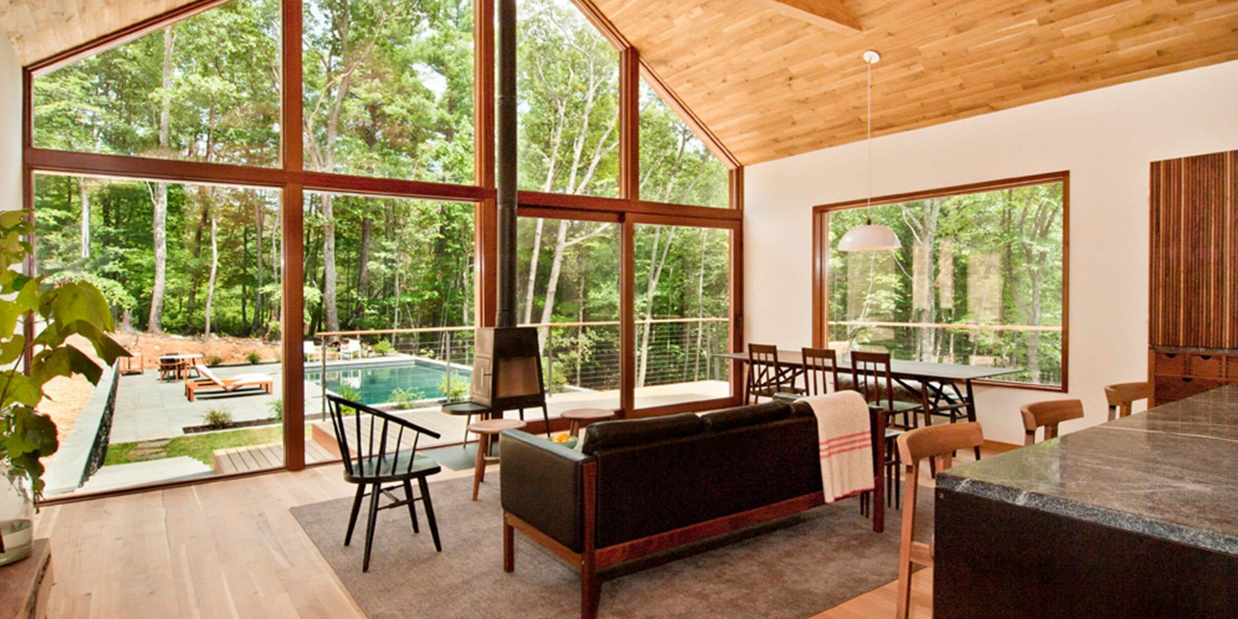 hudson woods house interior