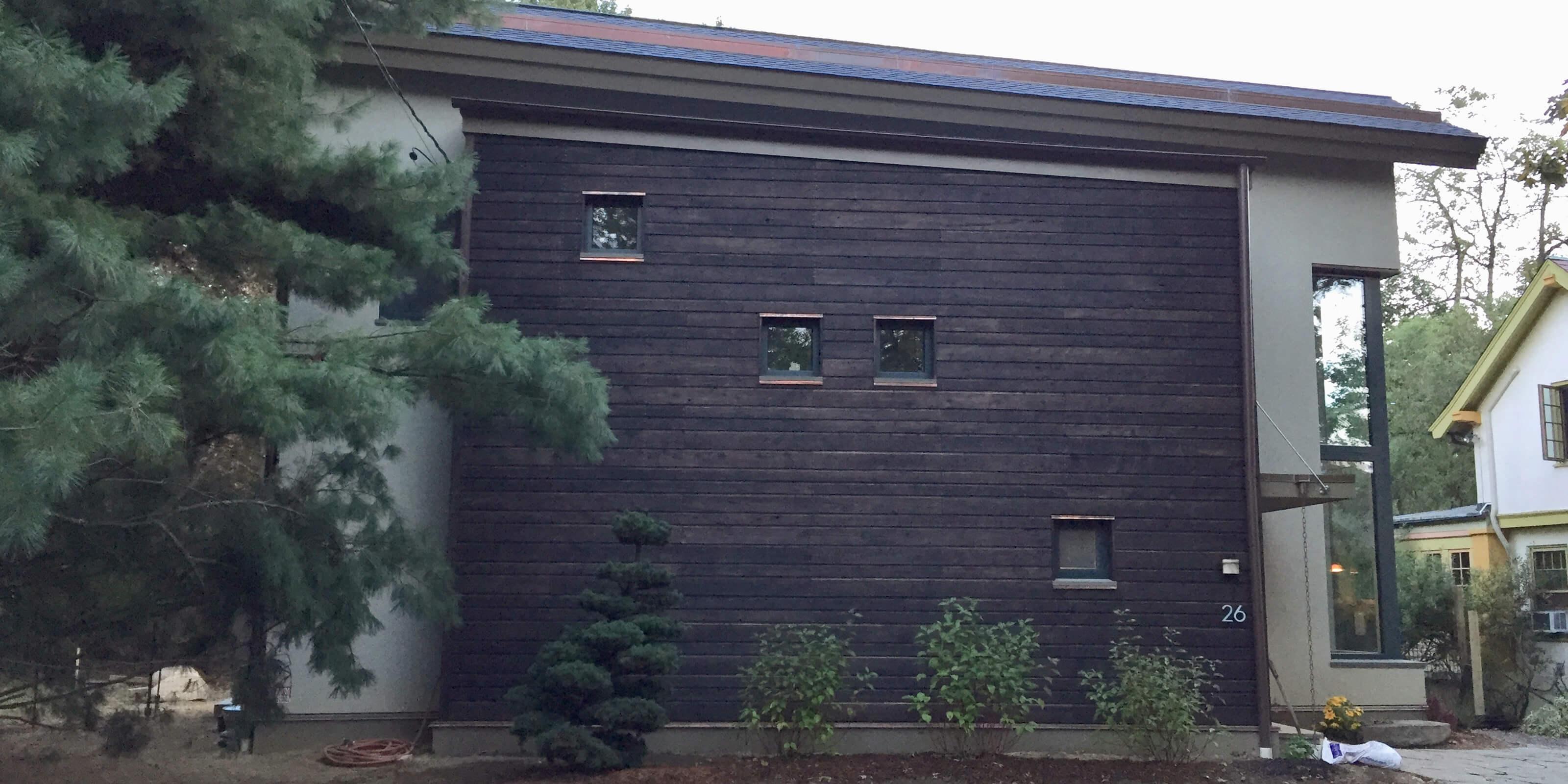 joan raiselis passive house front wall