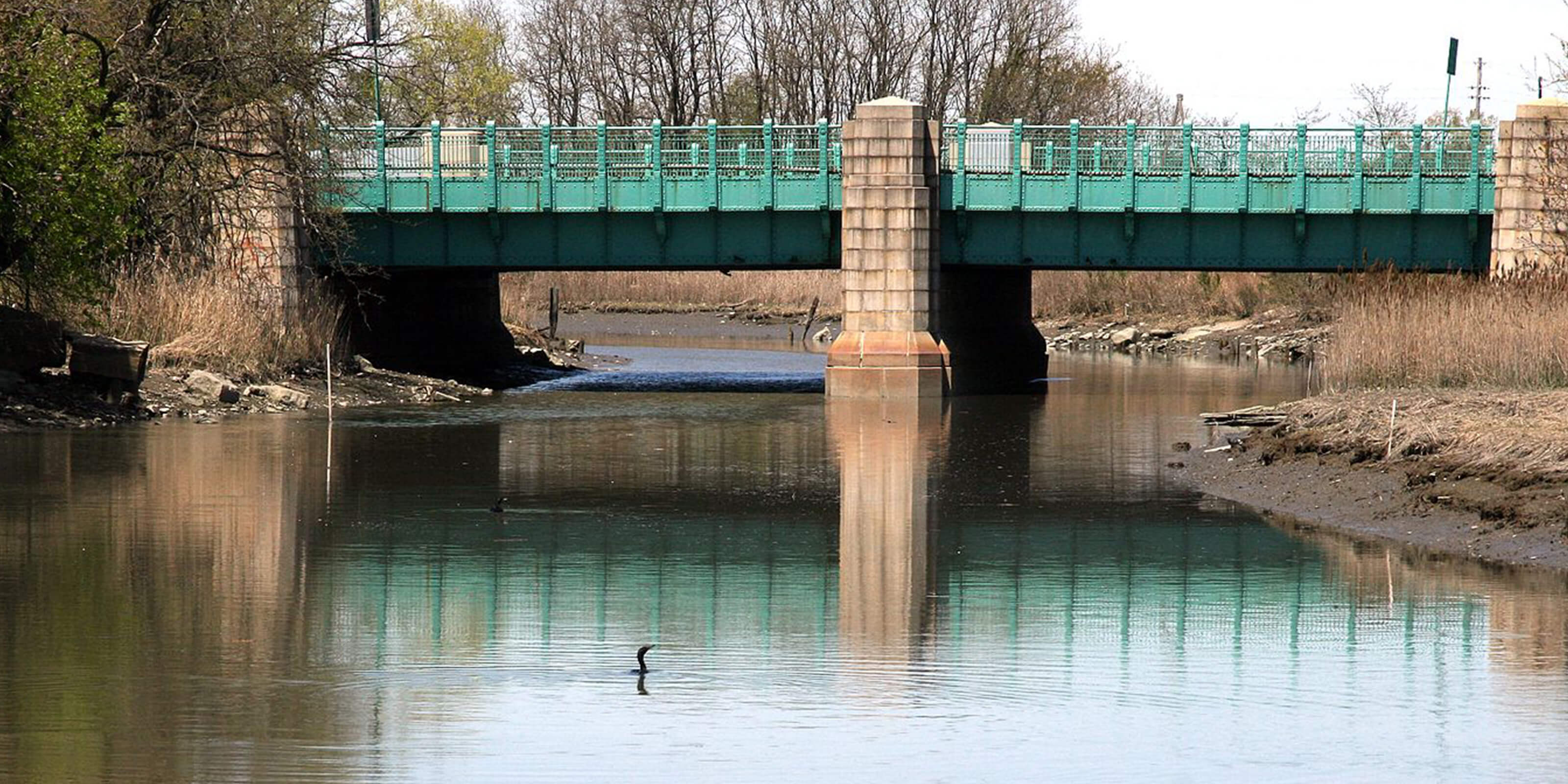 alley pond park bridge