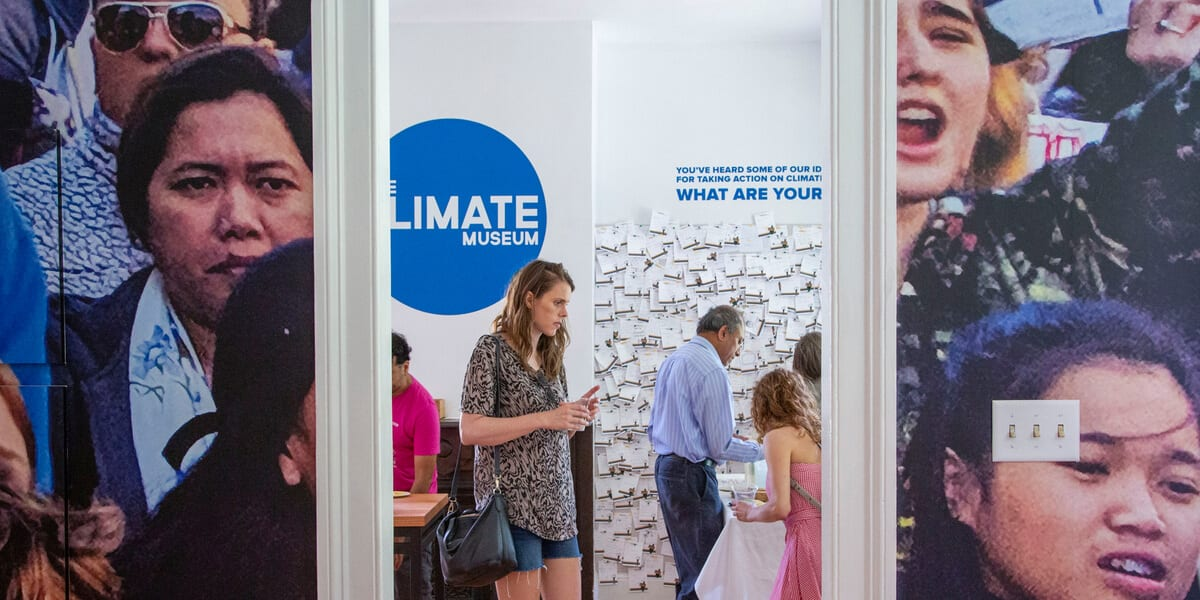 climate museum nyc interior