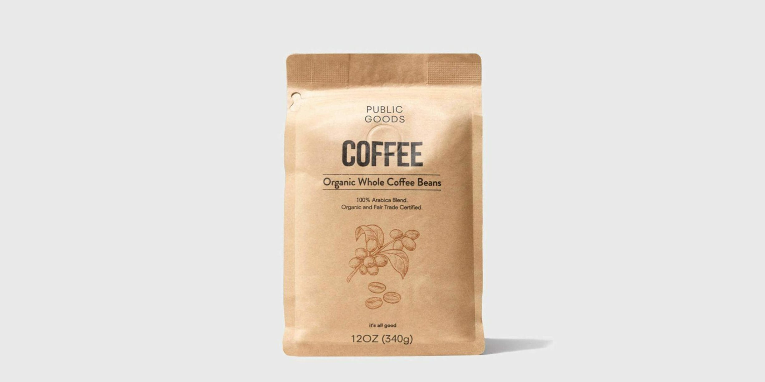 bag of public goods coffee beans