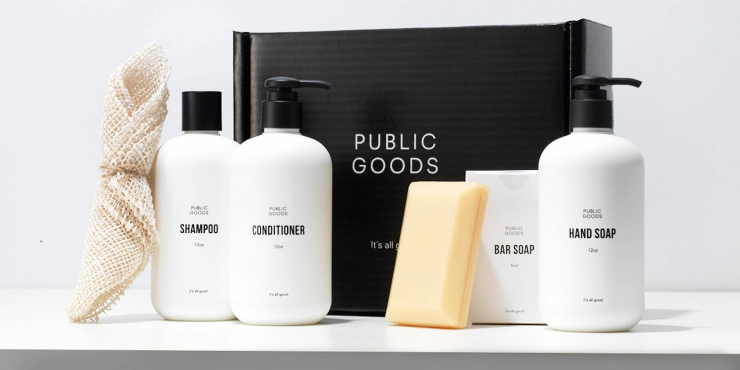public goods classic care gift set