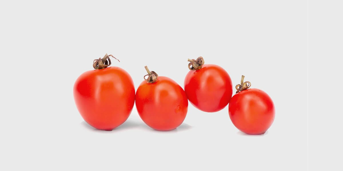 four raw tomatoes