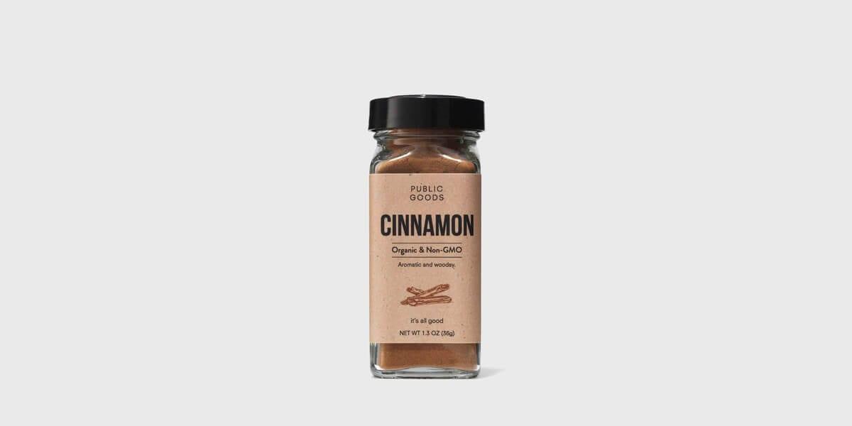 public goods cinnamon container