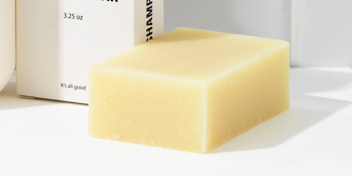 shampoo bar, paper box