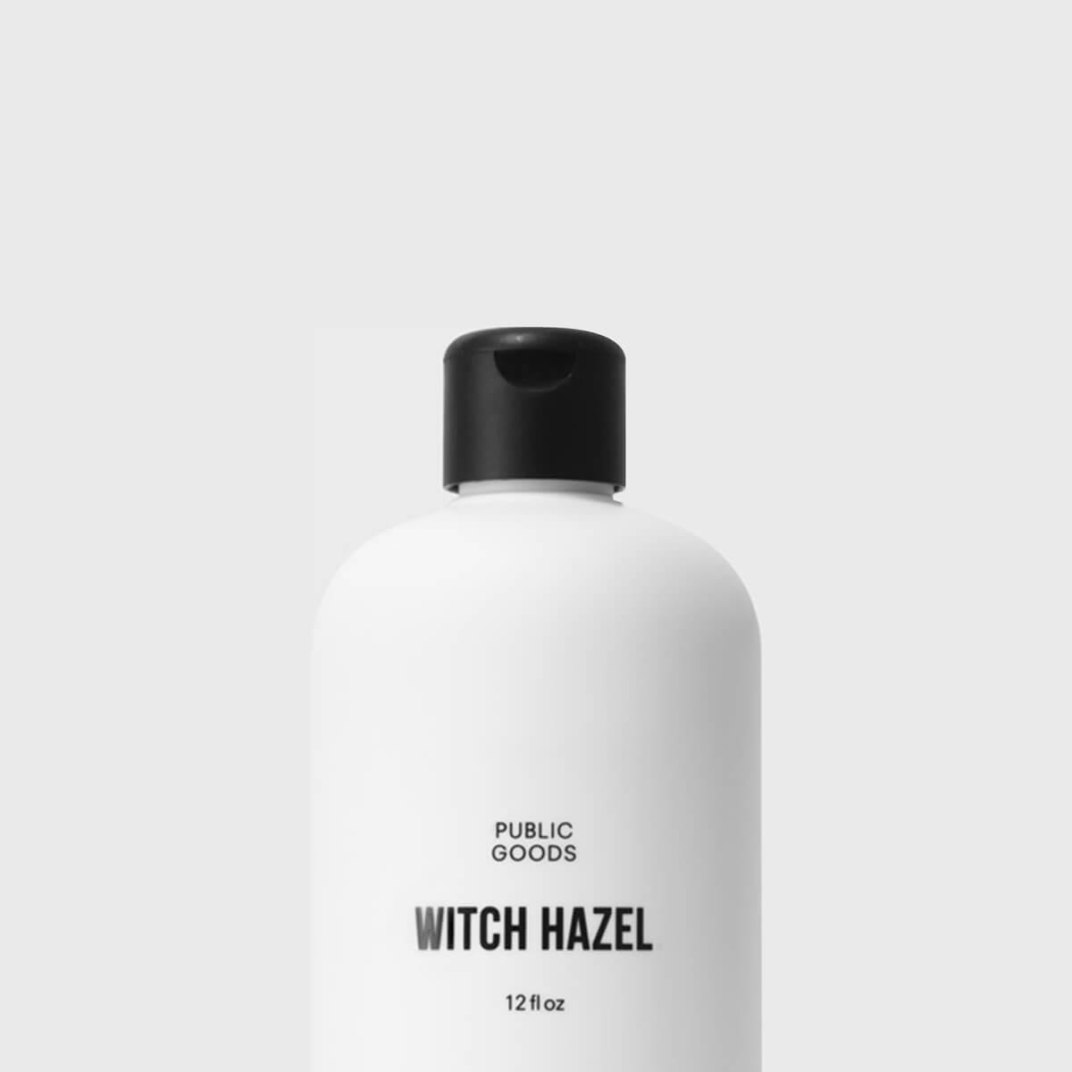 bottle of witch hazel