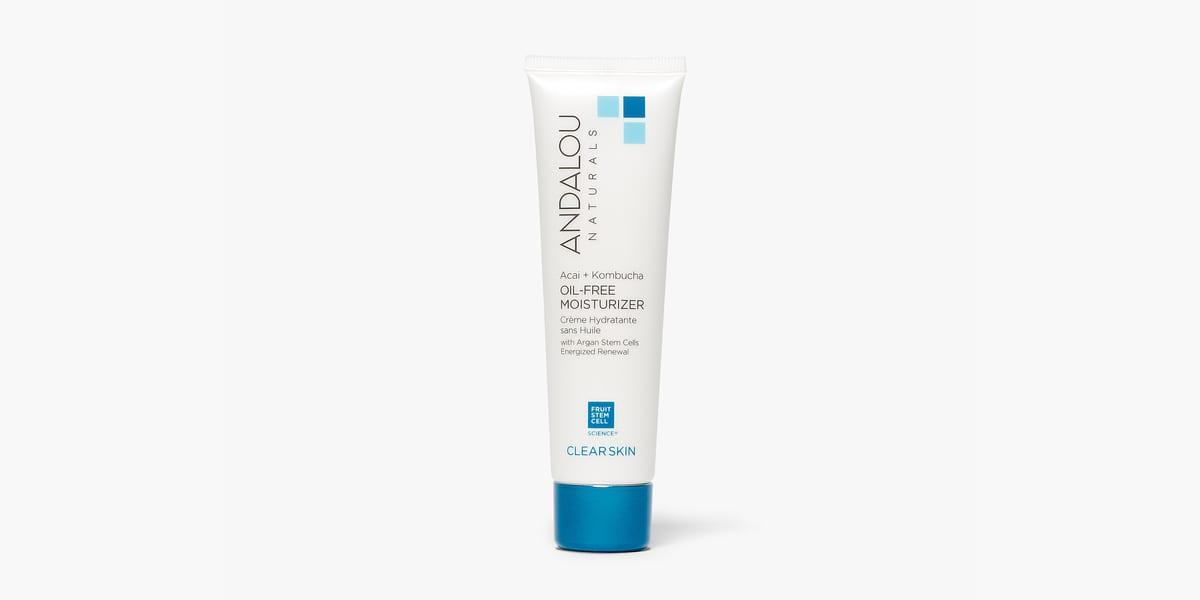 tube of andalou oil-free moisturizer