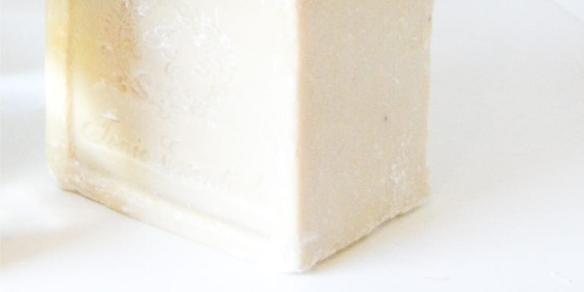 block of fragrance free soap
