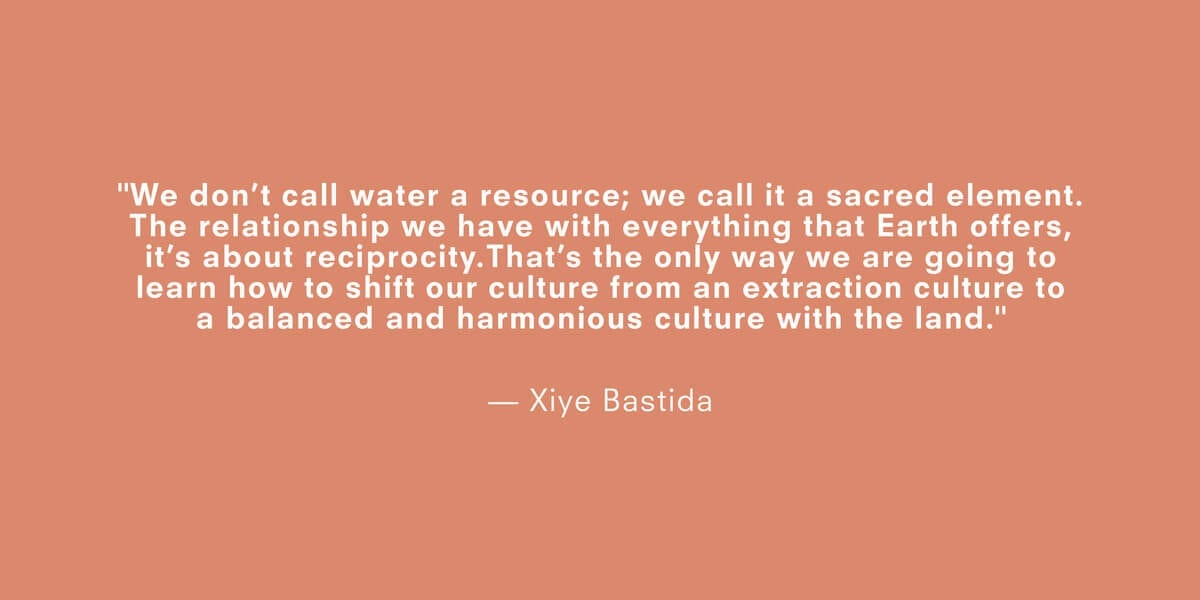 a quote about climate change by xiya bastida