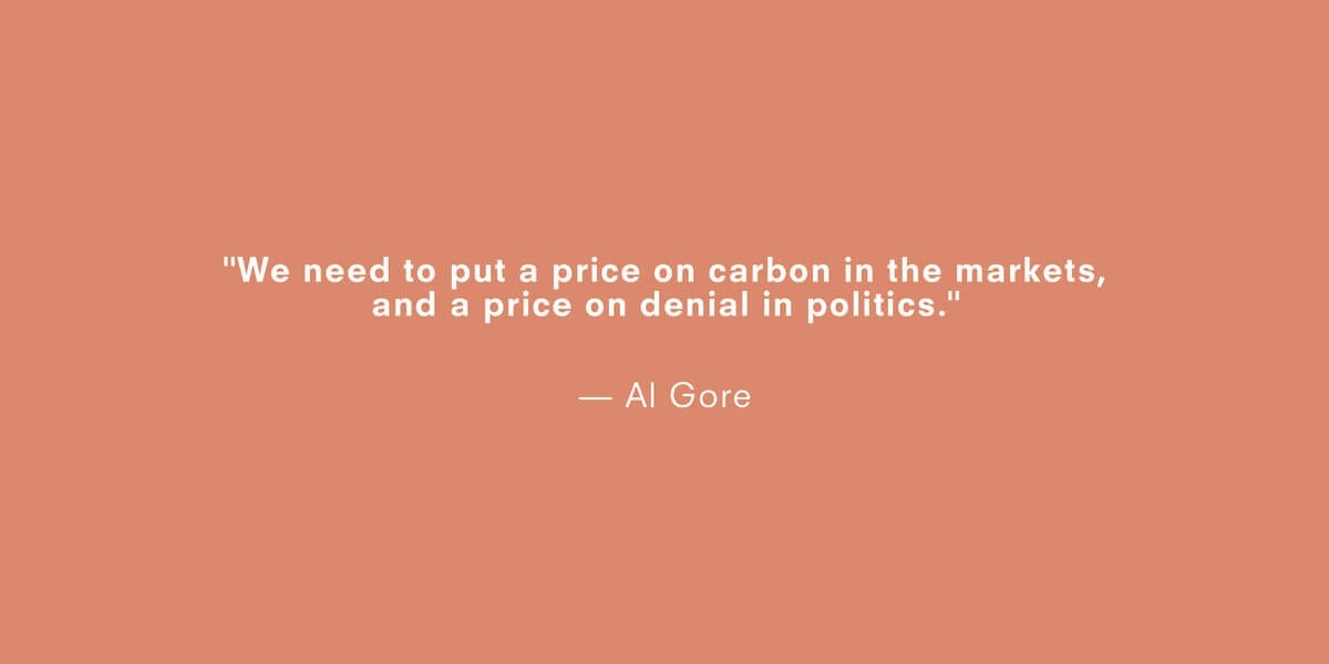 a quote about climate change by al gore