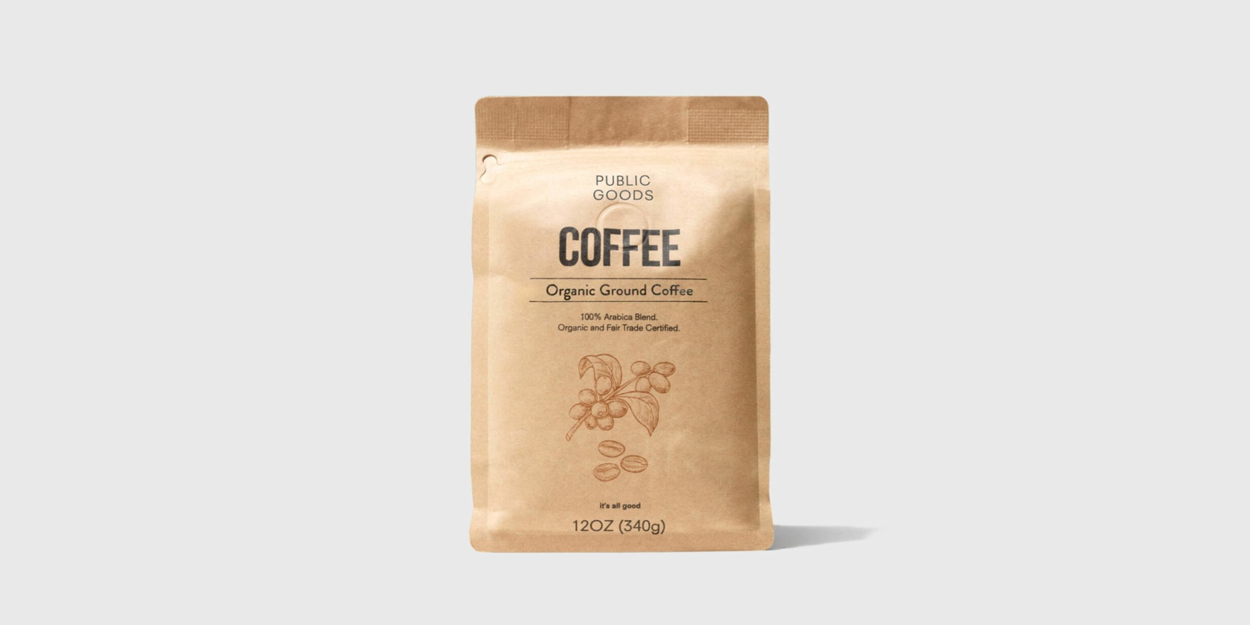 bag of public goods ground coffee