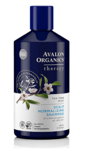 bottle of avalon vegan shampoo