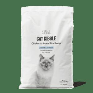 bag of public goods cat kibble