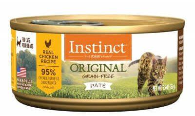 instinct original grain free wet cat food