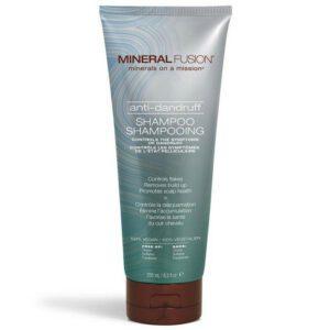 tube of mineral fusion vegan shampoo