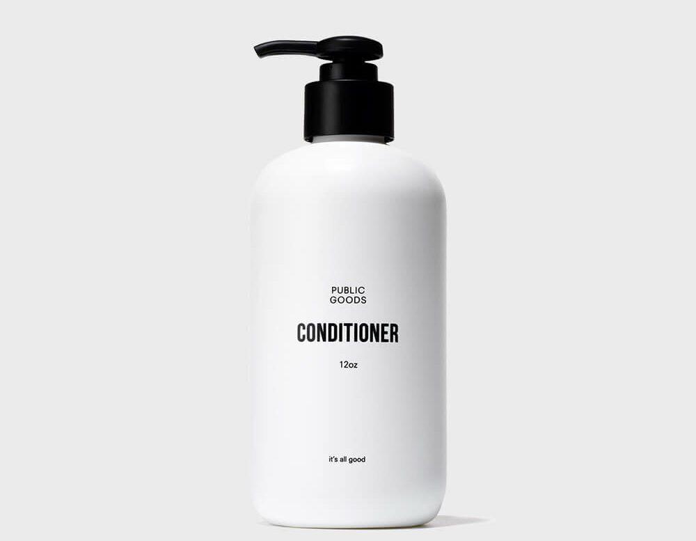 bottle of public goods conditioner