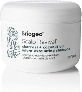 container of briogeo shampoo