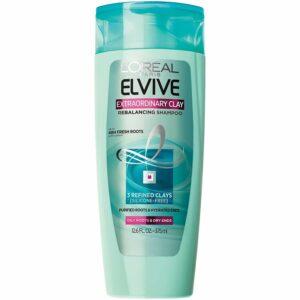 bottle of loreal shampoo