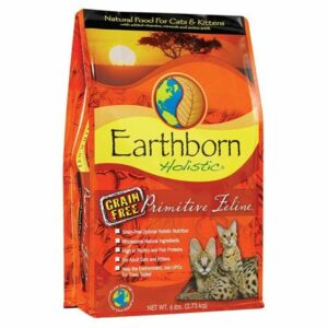 bag of earthborn cat food