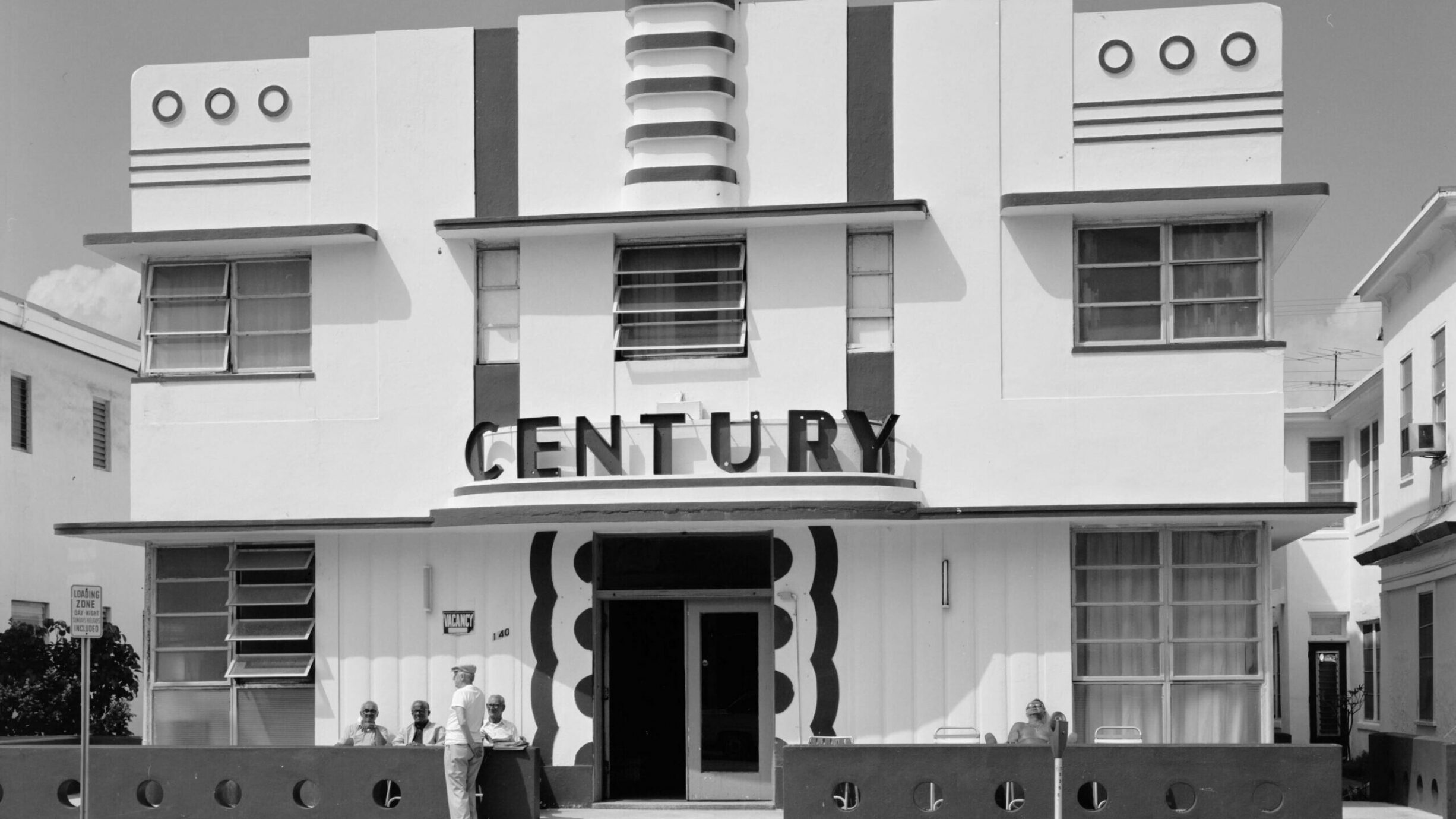 century art deco building