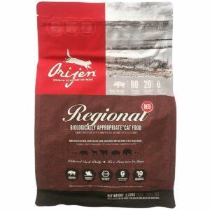bag of orijen cat food