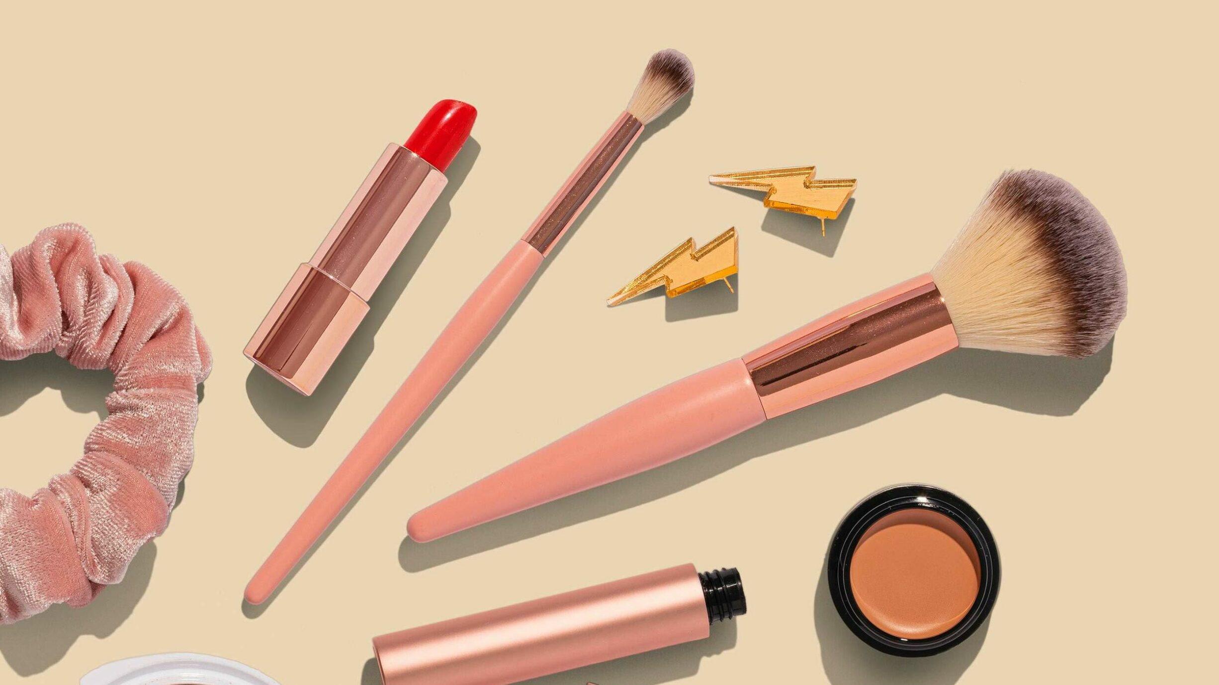 assortment of make-up