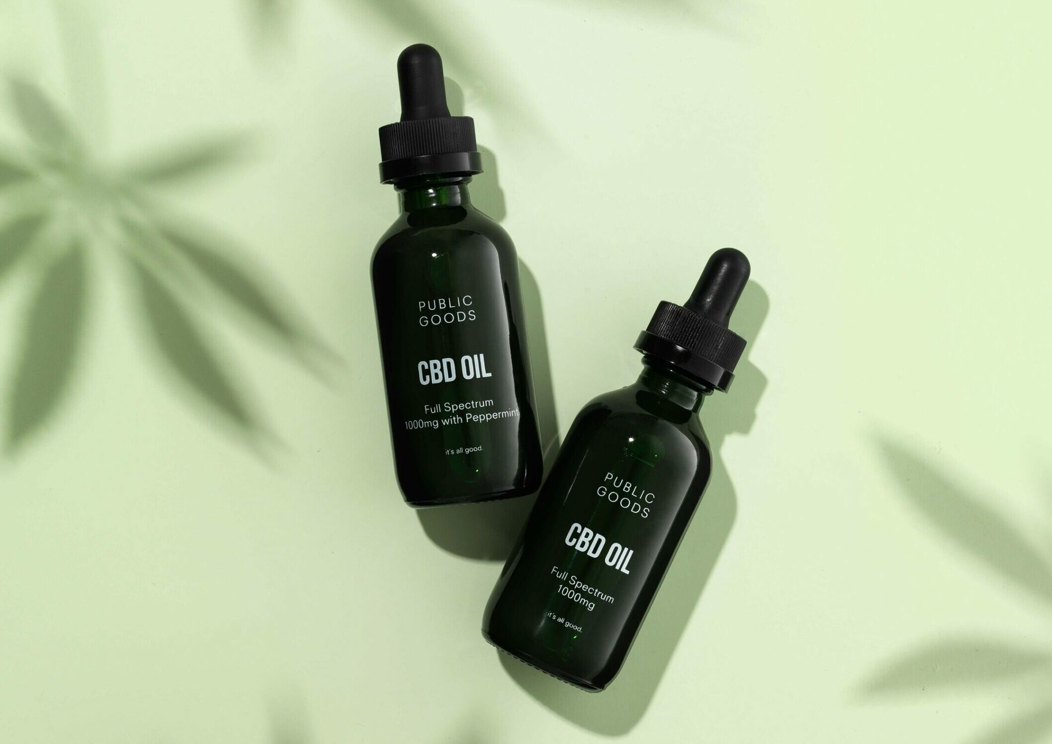 An Inside Look at Public Goods' CBD Products