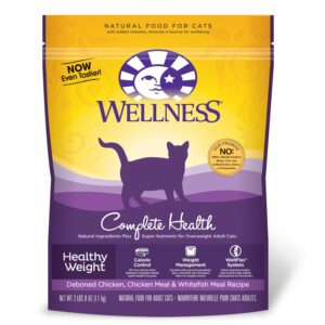 bag of pet wellness cat food