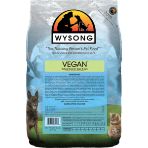 bag of wysong cat food