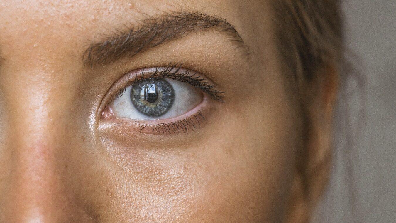 close up photo of an eye