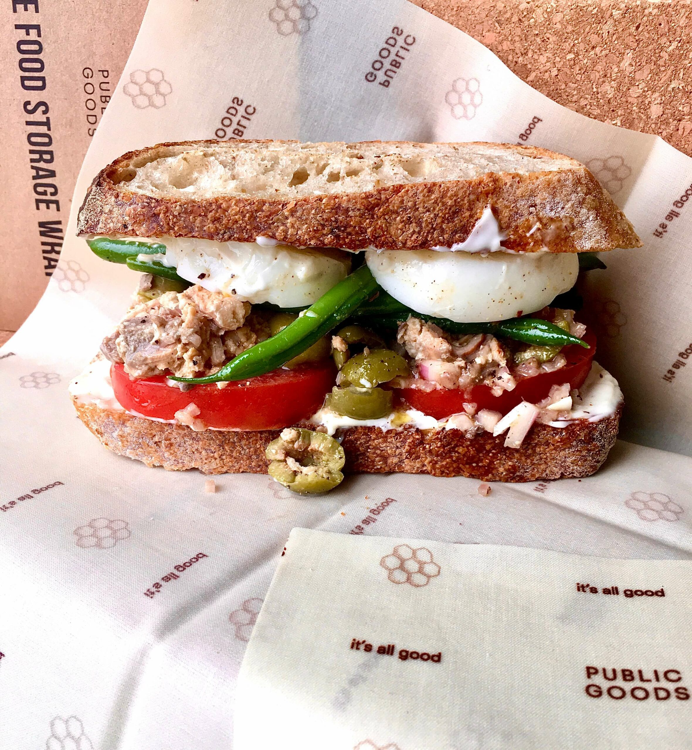 PG Recipes: Sandwich Niçoise-ish